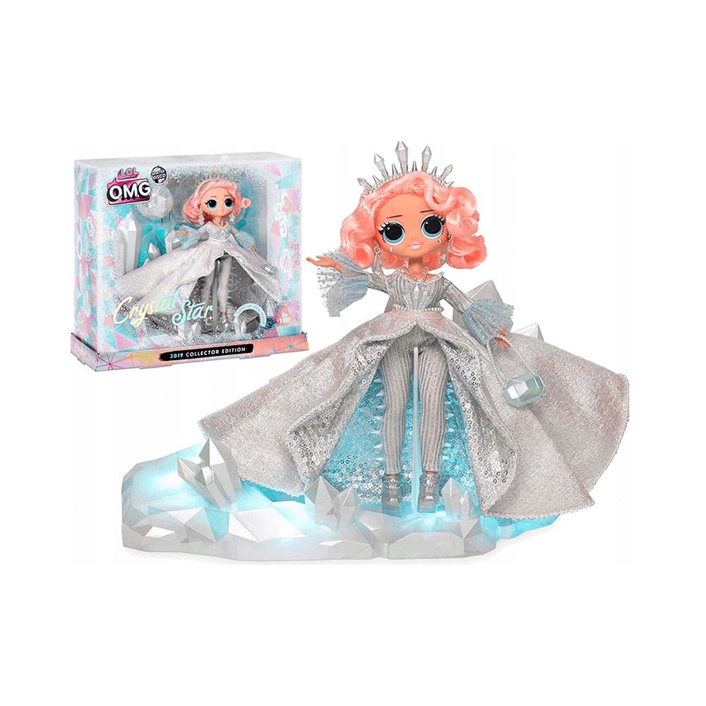 Кукла LOL Surprise Omg Winter Disco Crystal Star, ЛОЛ Кристал Стар - 5