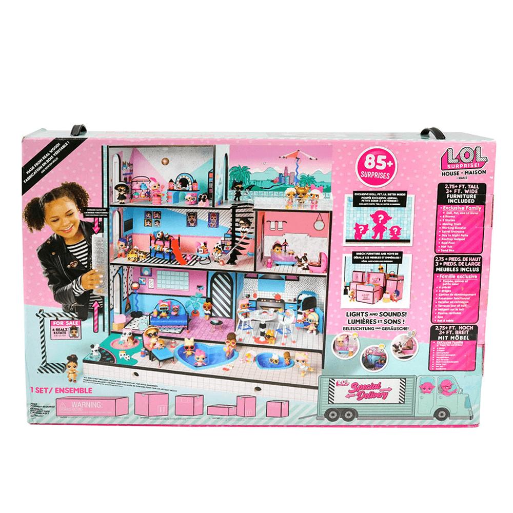 Кукла LOL Surprise Doll House (ЛОЛ Дом кукол) - 2