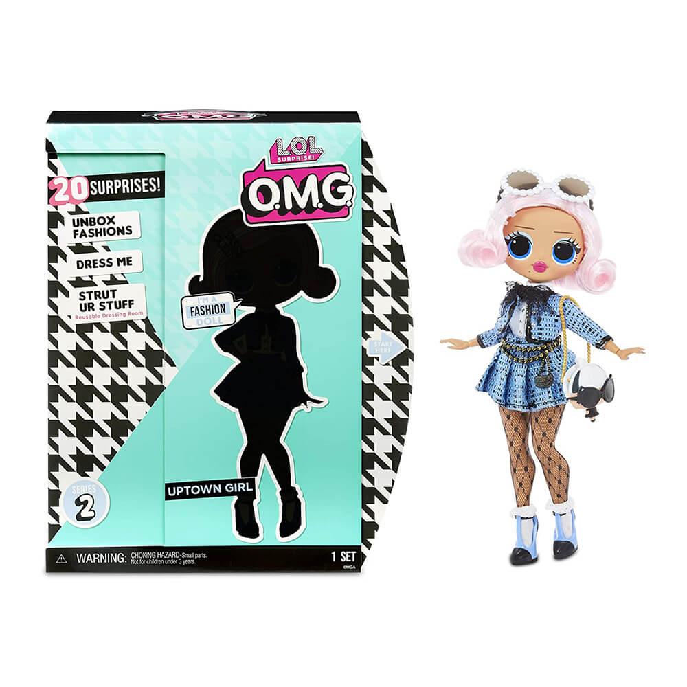 Большая кукла LOL Surprise OMG2 Uptown Girl с 20 сюрпризами (2 серия)